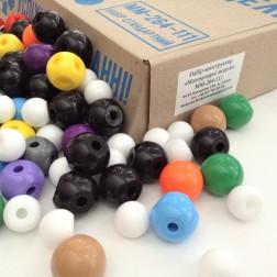 111 шт. атомів для складання моделей молекул
