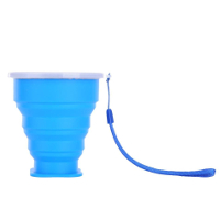 Travel-Silicone-Retractable-Folding-Cup-Telescopic-Collapsible-Blue